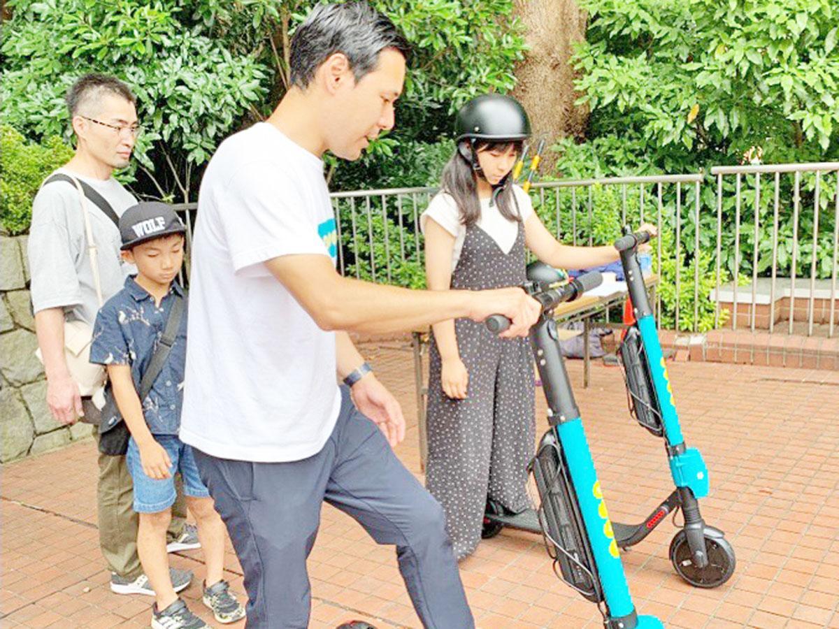 千葉市動物公園で行われた試乗会