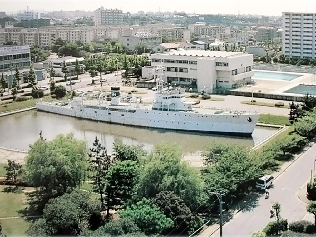 1998(平成10)年に解体された「千葉市海洋公民館 こじま」