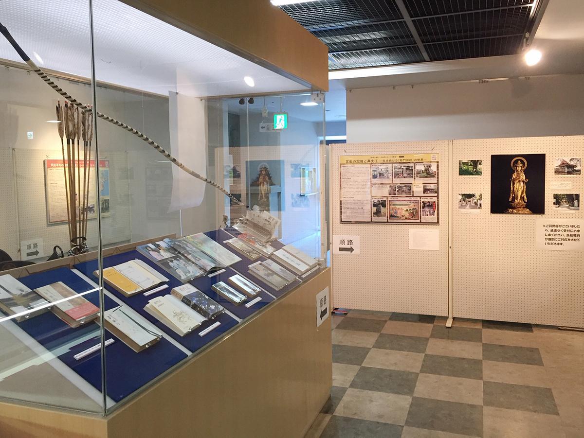 「将門と忠常」展示室の様子