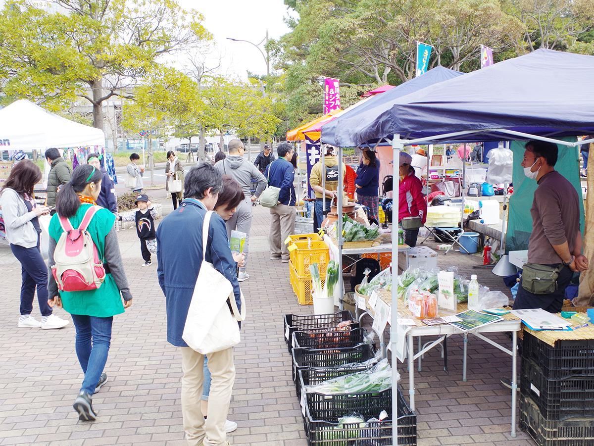 ガーデンマーケット(前回の様子)