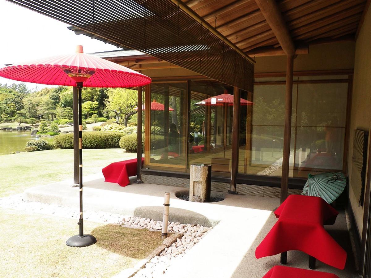 見浜園の茶室「松籟亭」