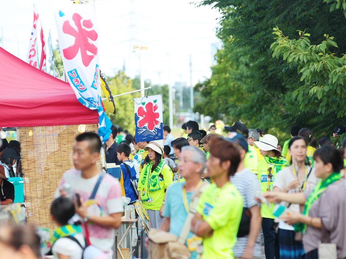 昨年夏に行われたイベントの様子 ©JEFUNITED - 千葉経済新聞