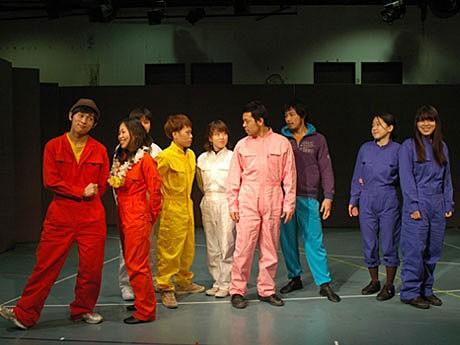 日活芸術学院・演技科の卒業公演「オムニバス~バスたちの物語~」の稽古の様子