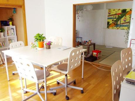 貸しスペースとしても利用可能なコワーキング・スペース。毎週火曜日にはイベントなどを開催