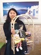 調布・仙川のカフェでドール撮影会-店主手作りの背景セットで