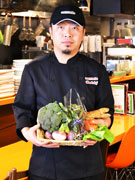 調布のレストランで野菜教室「アカデミックレストラン」-野菜ソムリエの講演も