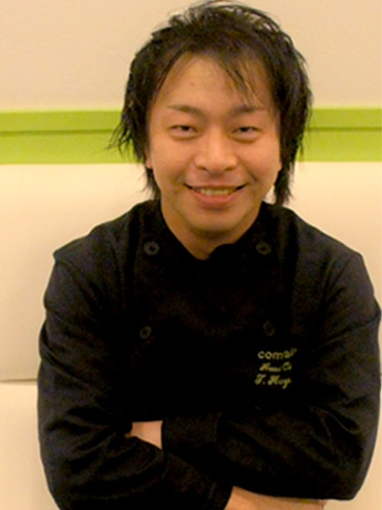 「アカデミックレストラン」を開催する菜園レストラン「カムラッド」の林卓社長。