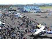 「調布飛行場まつり」今年も-航空機ファンに人気、飛行機見学や航空券抽選など