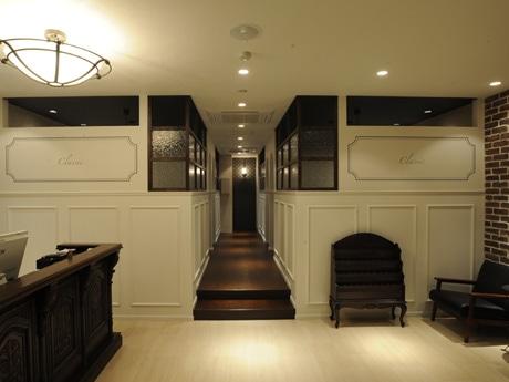 城をイメージした空間に完全個室4室を用意するヘアサロン「Classic」