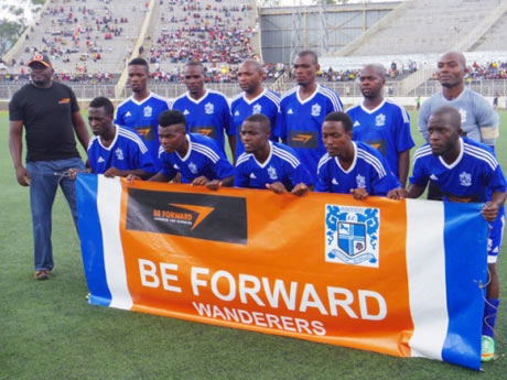 アフリカ南東部に位置するマラウイ共和国のプロサッカーチーム「ビィ・フォアード ワンダラーズ」