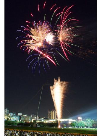 ©k-press 過去に行われた「狛江市民花火大会」の花火