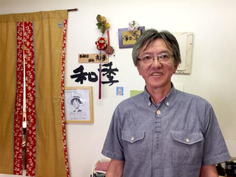 創業70年の老舗陶器店を閉め、新たな場で挑戦する店主の田中さん