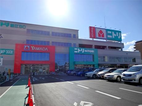 「ニトリ狛江ショッピングセンター」、エリア初出店 1階に「ヤマダ電機」も
