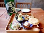 調布に人気居酒屋「土と青」2号店 ゆったり味わう料理と日本全国の地酒売りに