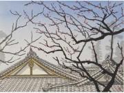 調布在住「関野凖一郎・洋作 親子木版画展」 浮世絵技法継承、多彩な作品