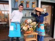 調布・仙川のギャラリーカフェが営業再開 知人らが協力、店内は手作り