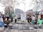 調布・仙川駅前地図看板がリニューアル 自治会、大学、クリエーターがコラボ
