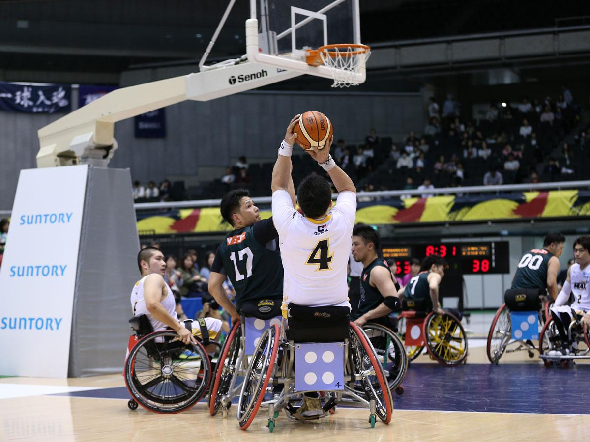 東京パラリンピック大会に向け注目が集まる、車いすバスケットボール