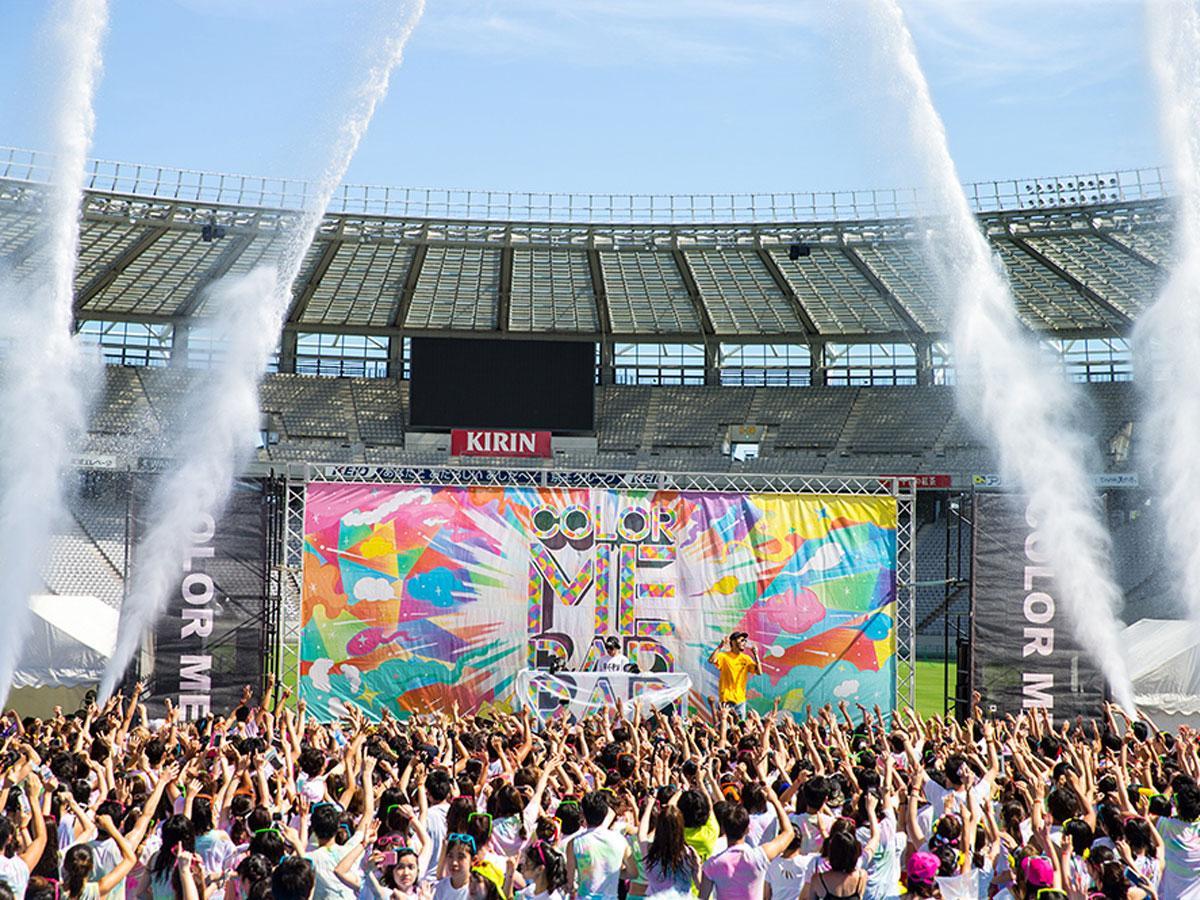 「Color Me Rad」イベントの様子 写真:Color Me Rad TOKYO 2018