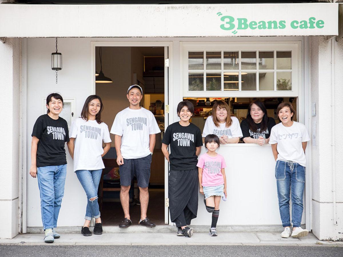 「3beans cafe」で日替わりで店舗を展開する個人事業主らのメンバー