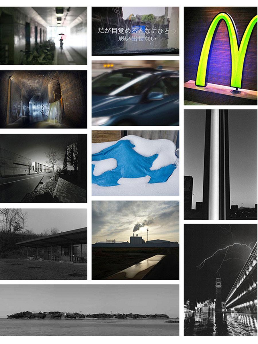展示される12人の写真作品