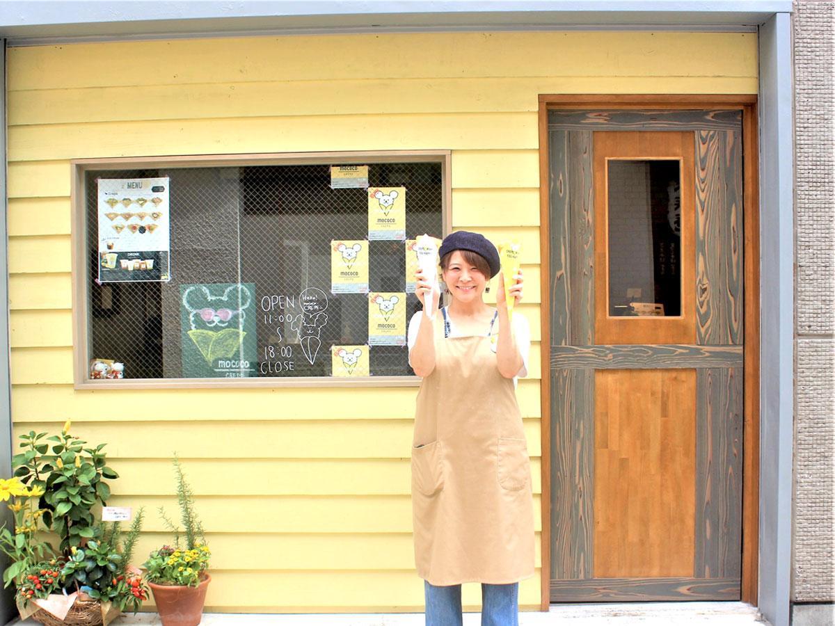 調布・仙川にクレープ専門店 手作りにこだわり、生地の焼き加減リクエストも