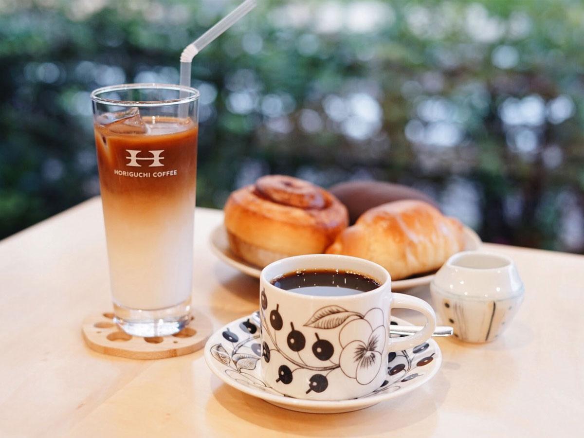 店内ではパンとコーヒーのペアリングが楽しめる