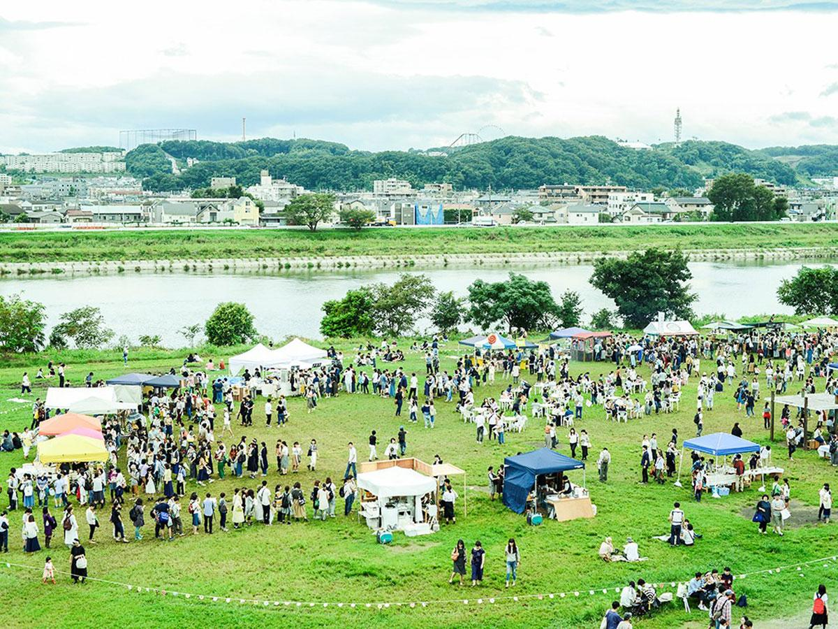 2019.10.09<br/>調布・多摩川で野外イベント「もみじ市」 作り手と歩む手紙社の原点、今年もコラボ企画