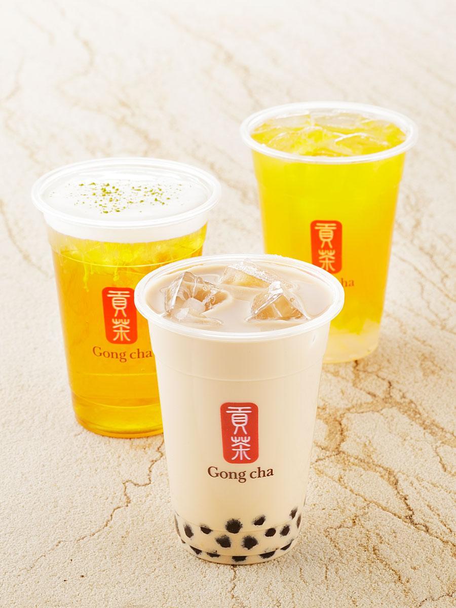 調布に台湾ティーカフェ「ゴンチャ」 タピオカやミルクフォームなどの追加も