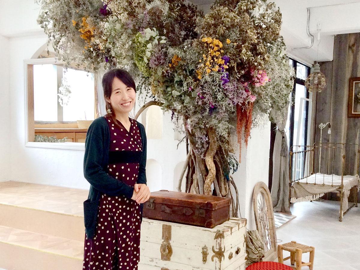 「Irodori Studio(イロドリスタジオ)」代表の古田島茜さん