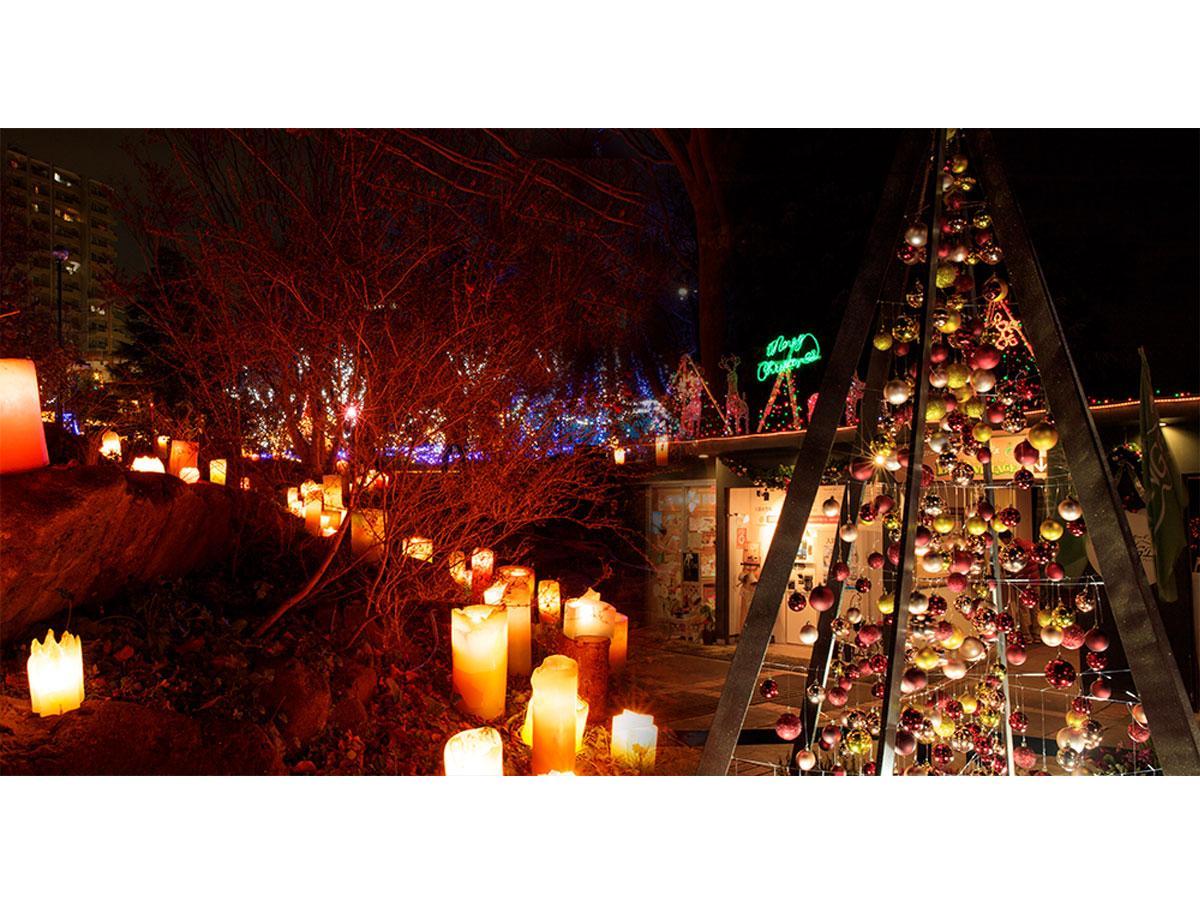 調布のアンジェでクリスマスイベント 幻想的な庭園で催し多彩に