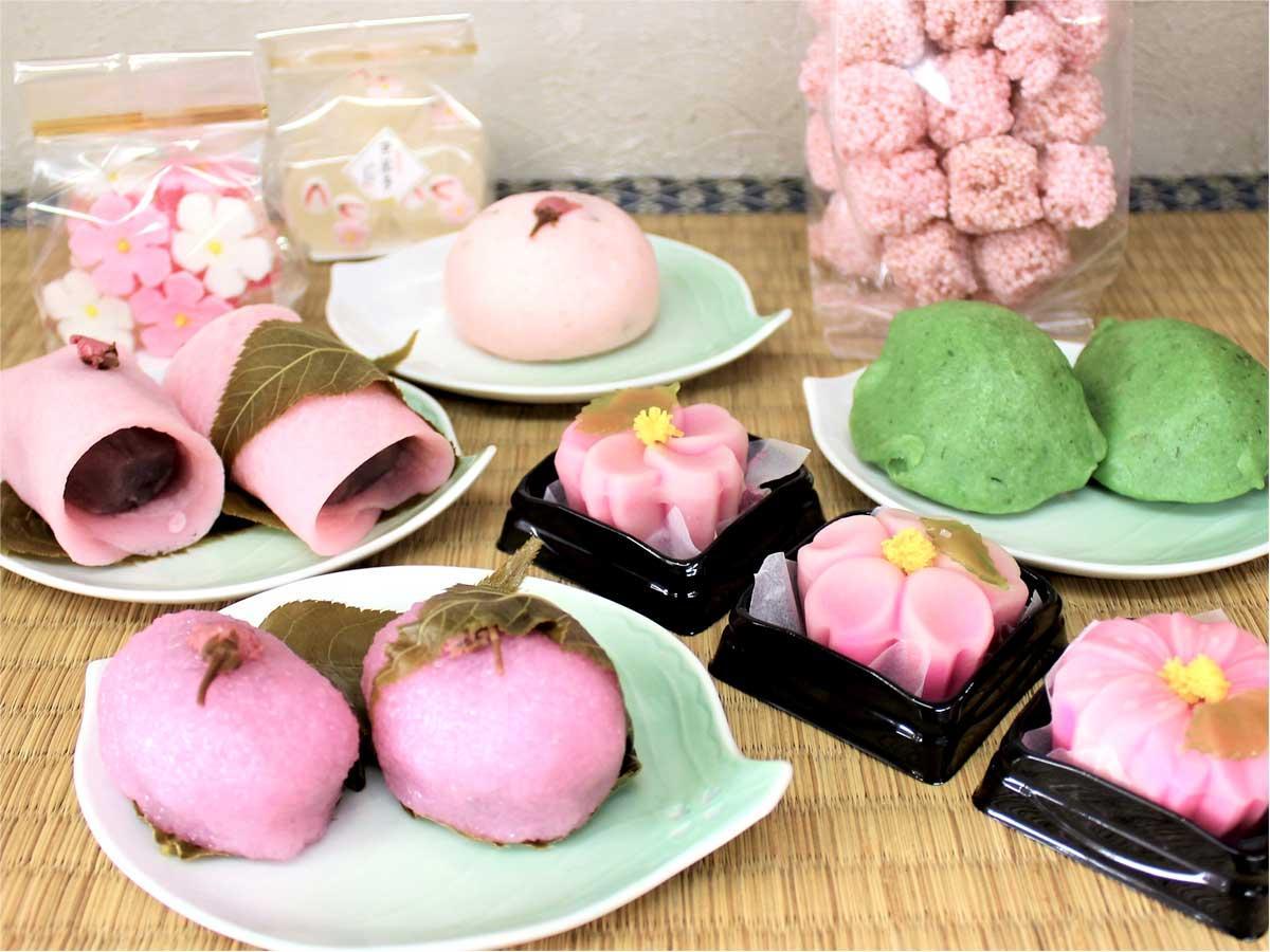 「千代富清風堂」の春を味わう和菓子
