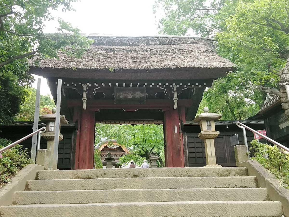 拝観を再開した深大寺