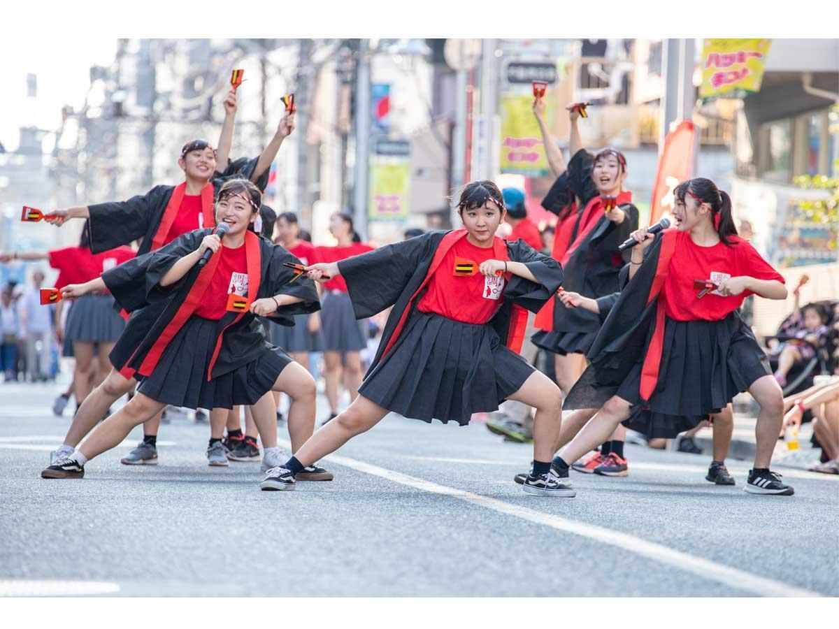 「調布よさこい2019フォトコンテスト最優秀賞作品」タイトル:「皆で踊った夏の思い出」 撮影:新井英哲さん