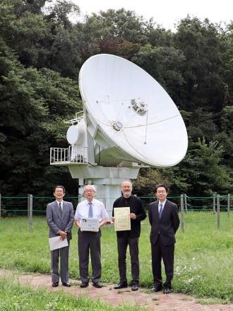 国立天文台の「6mミリ波電波望遠鏡」、日本天文遺産に認定
