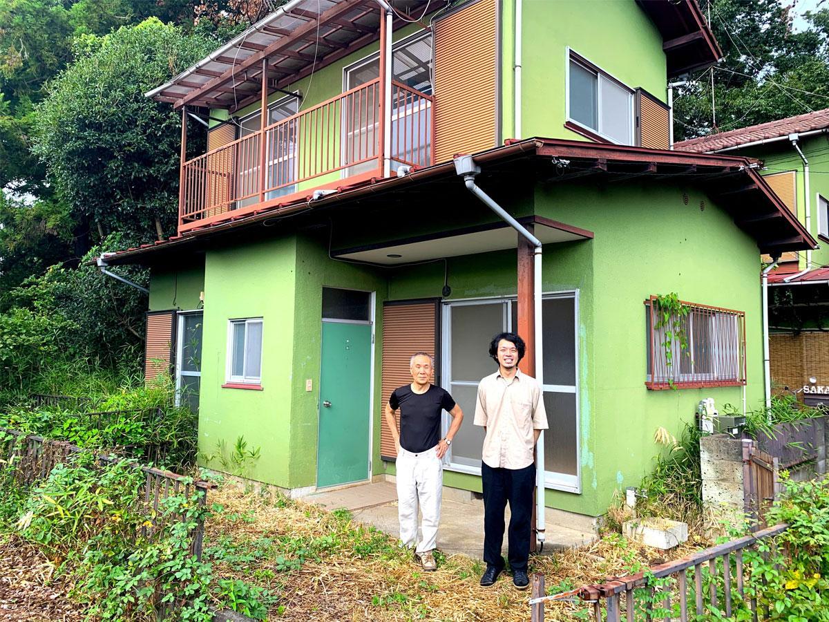深大寺エリアの空き家となっている戸建て住宅