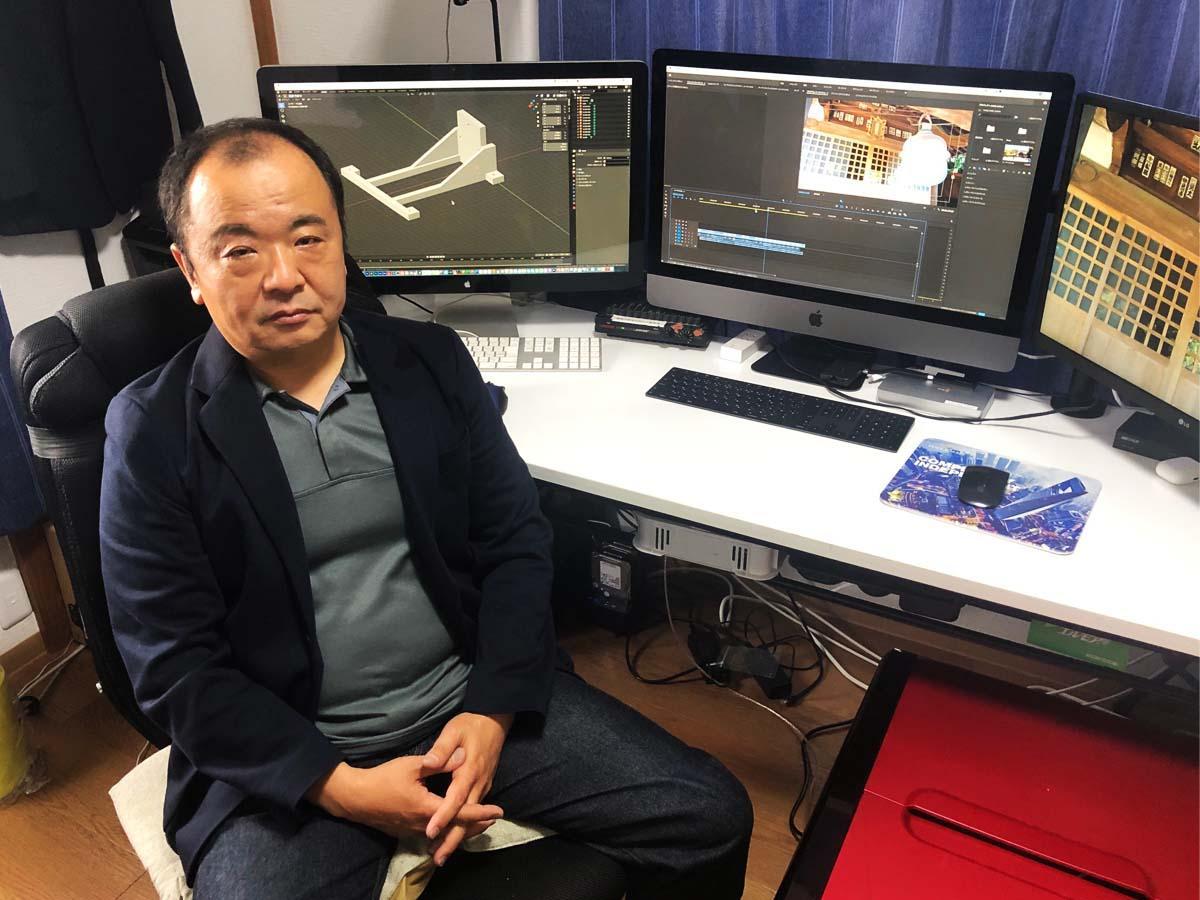 調布駅徒歩圏内に、6月22日、配信に特化したレンタル撮影スタジオ「TGM Web Studio 調布」をオープンするトラスゴーメディア・杉浦信行さん