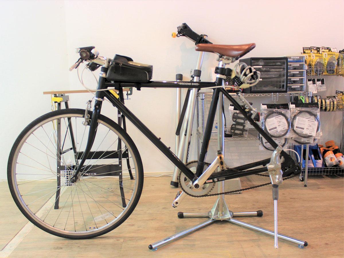 つつじヶ丘に自転車修理専門店 スポーツバイクメカニックの技術生かす