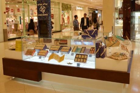 「Deira City Centre」に出店した中東13店舗目となるヨックモックの新店舗