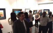 中東初「松本零士の世界展」 貴重な原画やセル画100点以上公開