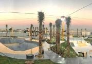 Xスポーツの聖地化するドバイ 湾岸最大のスケボーパーク間もなく完成