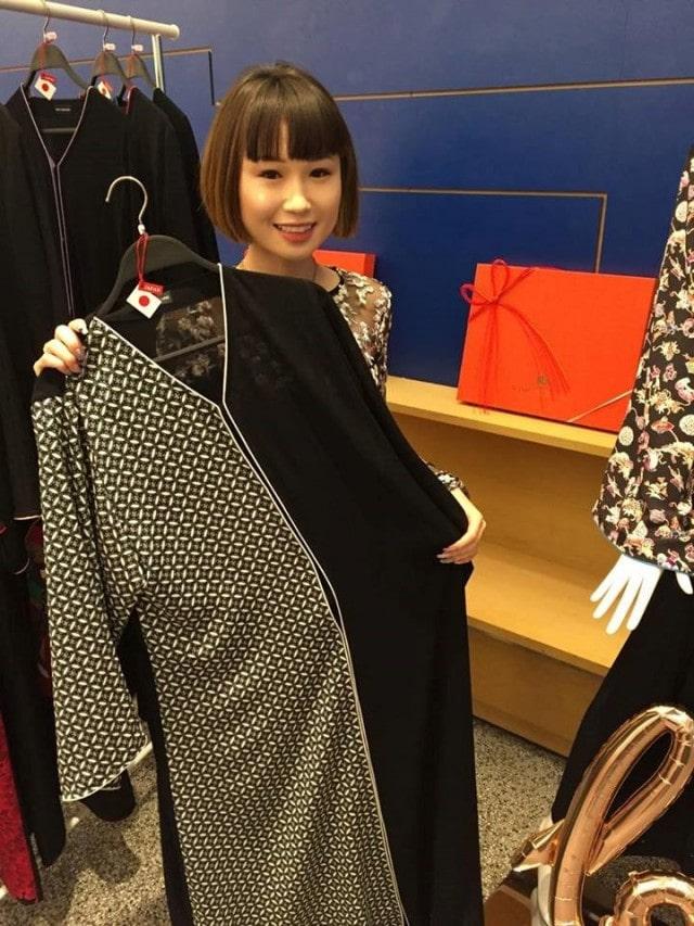 アバヤデザイナーの松崎真子さん
