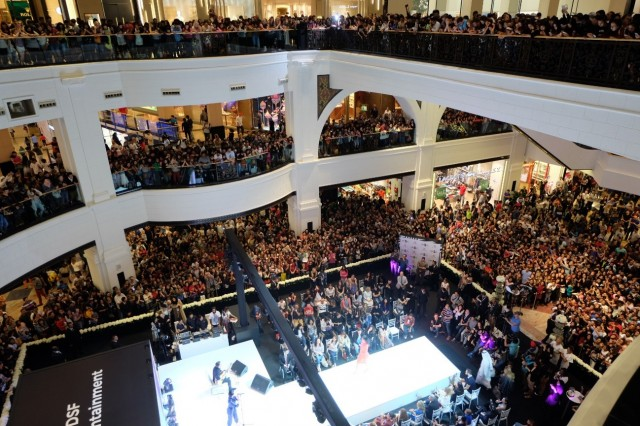 7000人が集まった会場の様子