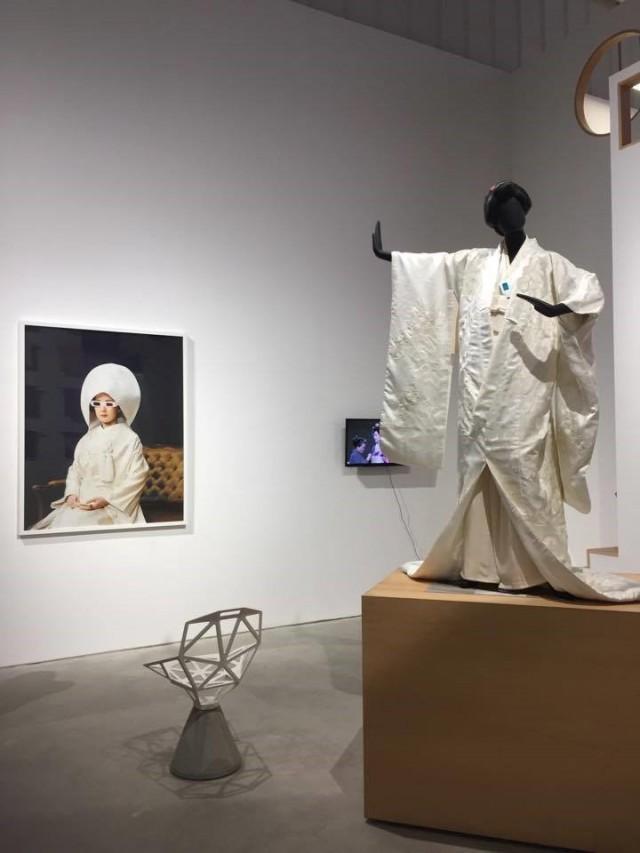 アートを意識したChi-ka Collectionの店内