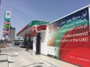 ドバイで国内初の太陽光発電ガソリンスタンドがオープン
