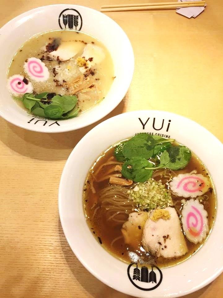デザイン地区にオープンしたラーメン専門店「YUI」