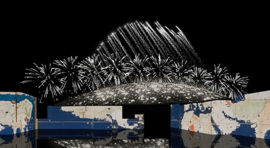 ルーヴル・アブダビのオープンを記念したショーは11月9日開催 © Louvre Abu dhabi