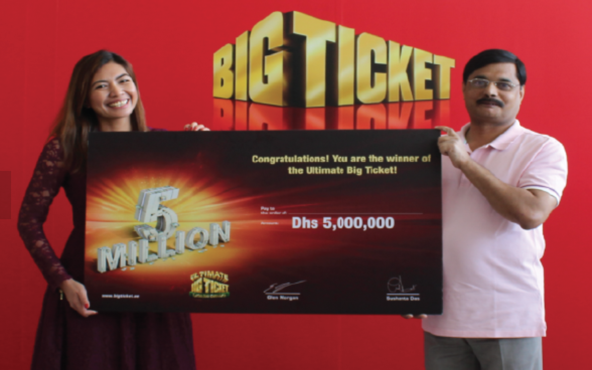 UAEの高級宝くじ「BIG TICKET」 昨年の高額当選者 © BIG TICKET