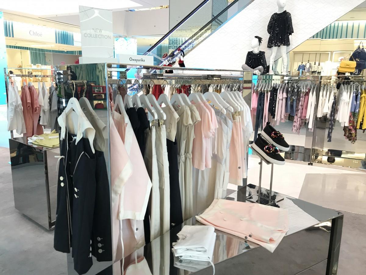 ドバイの高級子ども服店でロンドン発日本デザインブランド販売