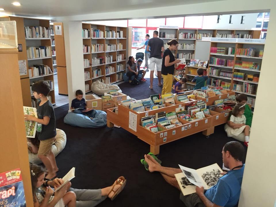 図書館ではワークショップも開催される © Alliance Francaise